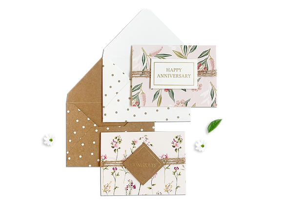 Flower Note Card