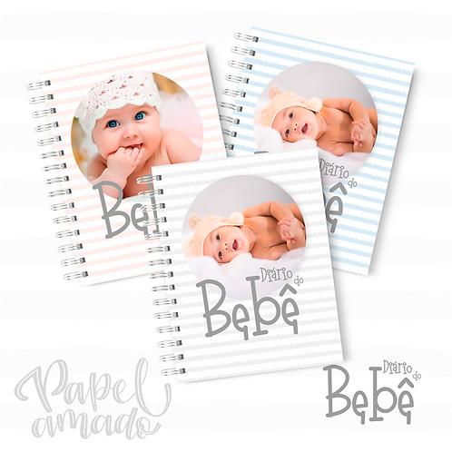 Arquivo Diário do Bebê Neutro/Rosa/Azul