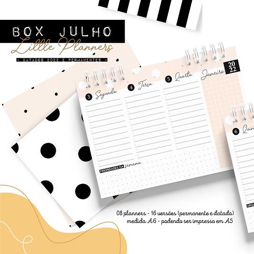 BOX JULHO - MINI PLANNER