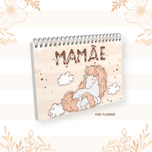 Arquivo Mini Planner A6 Mamãe/Vovó Animal