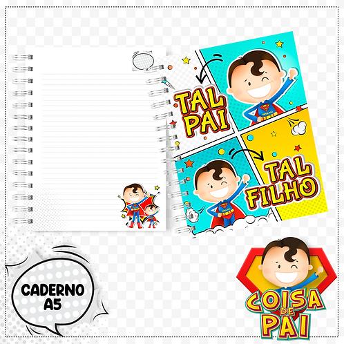 Arquivo Cadernos Coisa de Pai/Avô A5