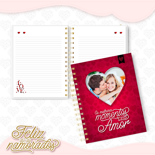 Caderno Dia dos Namorados mod 01