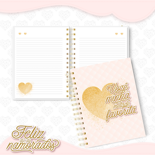 Caderno Dia dos Namorados mod 02