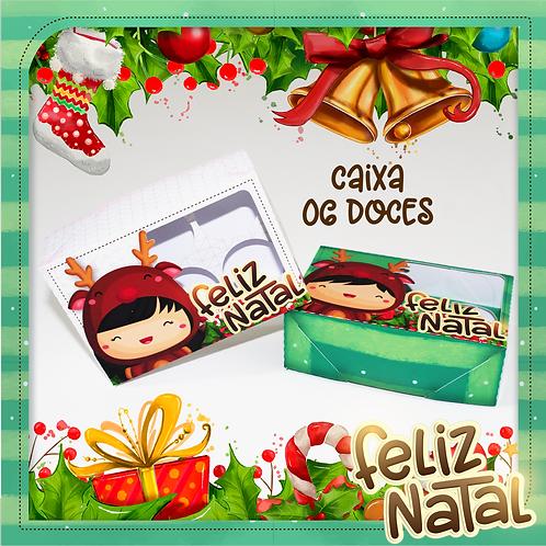 CAIXA 06 DOCES NATAL KIDS