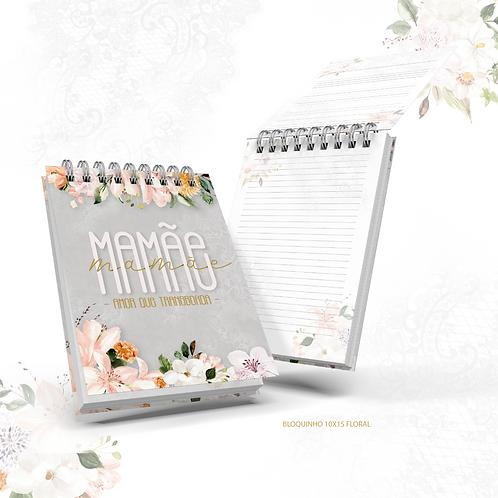 Arquivo Bloquinho Mamãe/Vovó Floral