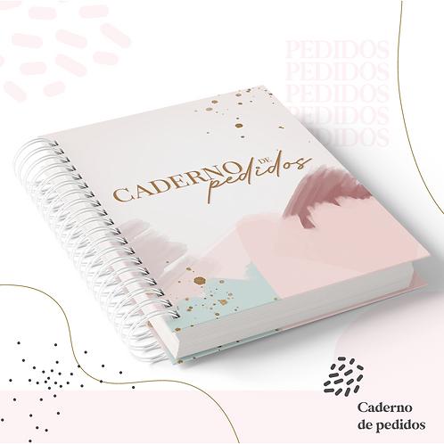 Caderno de Pedidos - Encadernação e Geral