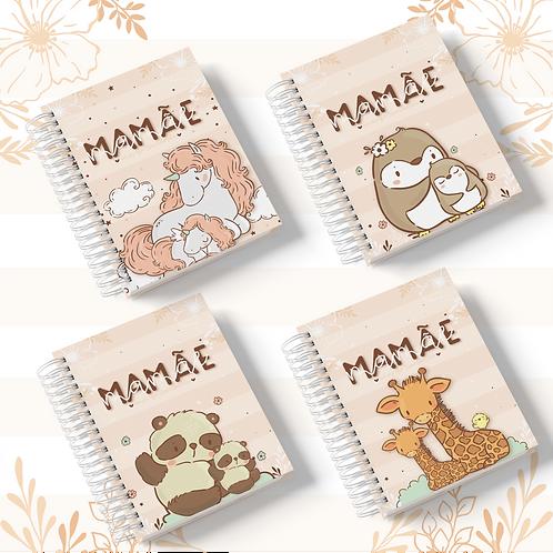 Arquivo Caderno Pautado A5 Mamãe/Vovó Animal