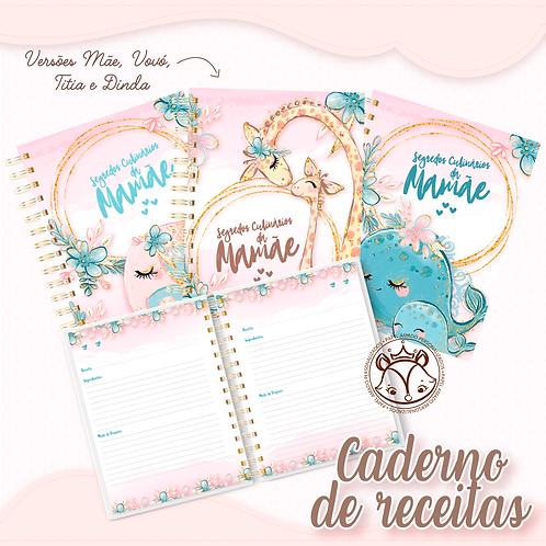 Arquivo Caderno de Receitas Cute