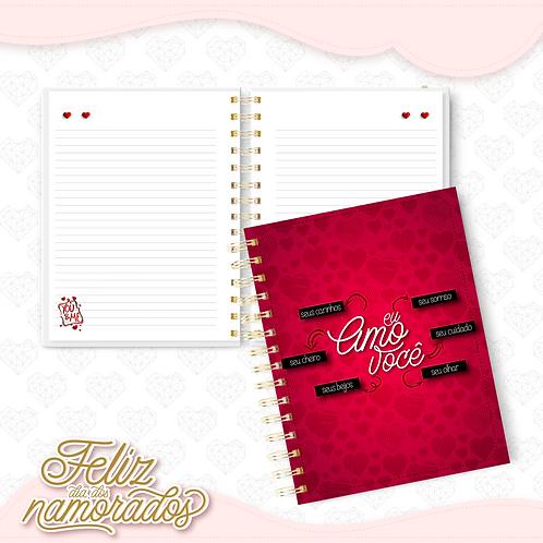 Caderno Dia dos Namorados mod 09