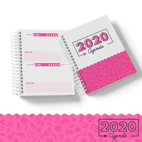 Arquivo Agenda Escolar Rosa