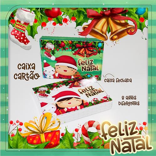 CAIXA CARTÃO NATAL KIDS