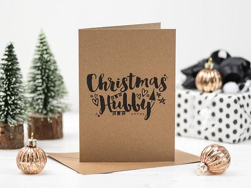 Christmas Hubby card