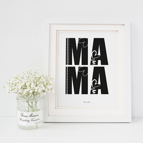 Mama Established Print