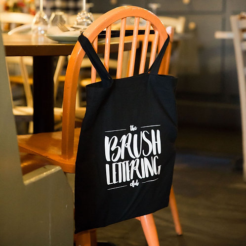 The Brush Lettering Club Cotton Tote Bag