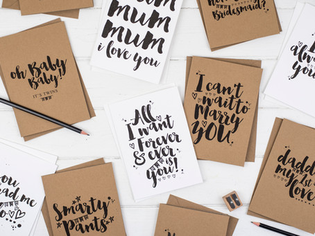 Greeting Cards: the perfect way to show you care