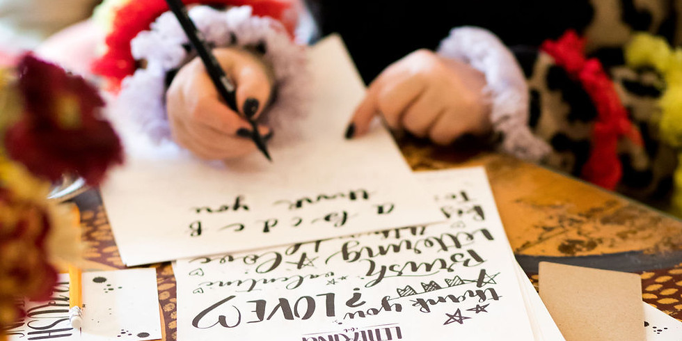 Introduction to Brush Lettering Workshop