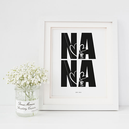 Nana Established Print