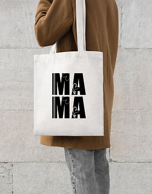 MAMA Cotton Tote Bag
