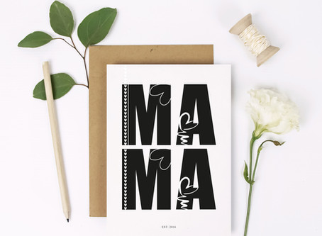 Mother's Day Cards and Gift Ideas