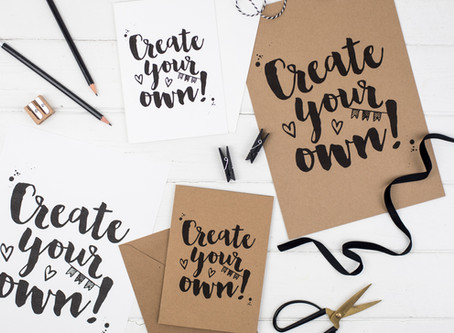 How to get started with brush lettering