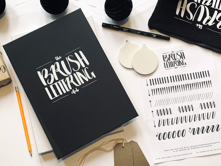 5 Reasons You'll Love My New Brush Lettering Subscription Kit