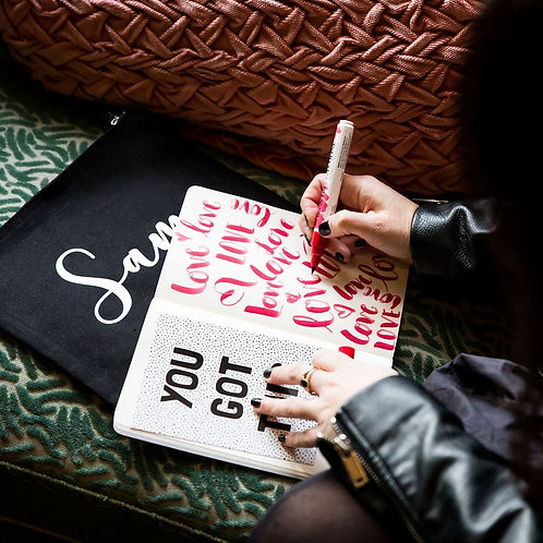 The Brush Lettering Club Pencil Case