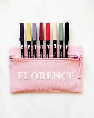 personalised pencil case_lubelu london.P