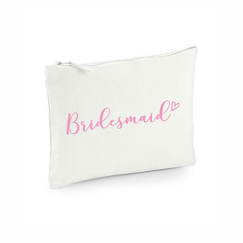Bridesmaid Wedding Pouch
