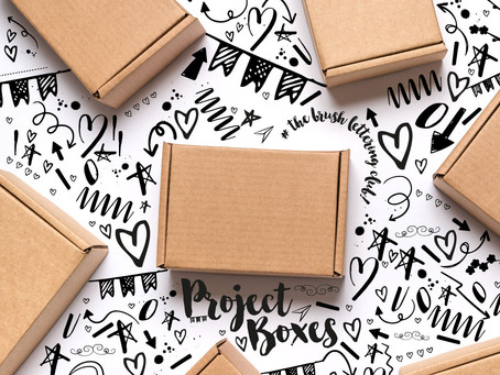 Meet the Brush Lettering Project Boxes
