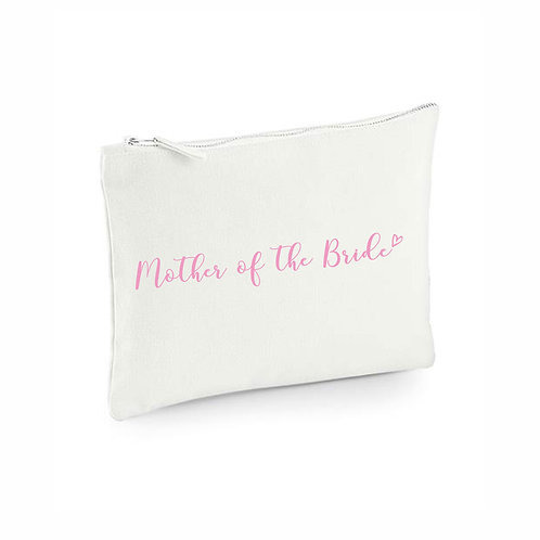 Mother of the Bride Wedding Pouch