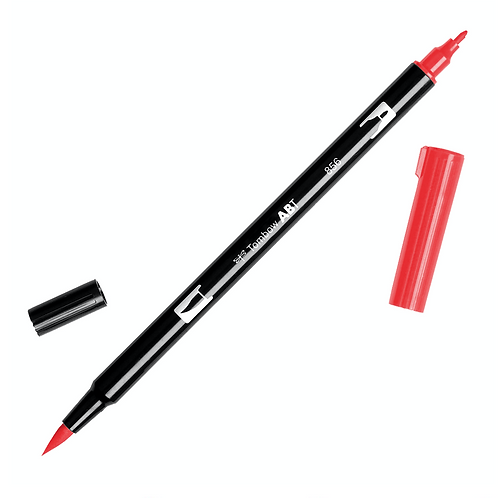 Tombow Dual Brush Pen Chinese Red 856
