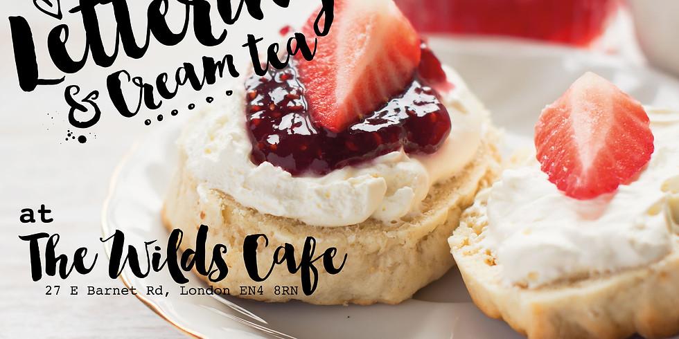 Introduction to Brush Lettering & Cream Tea