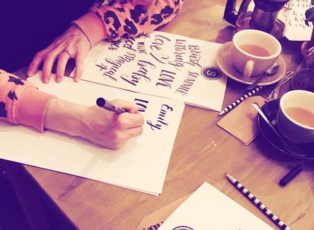 brush lettering - the brush lettering venues