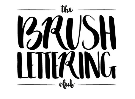 Introducing The Brush Lettering Club