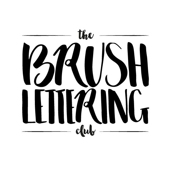 What is Brush Lettering? The Brush Lettering Club