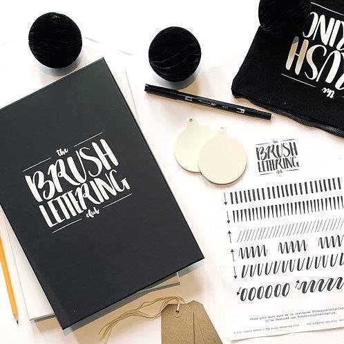 The Ultimate Christmas Brush Lettering Kit