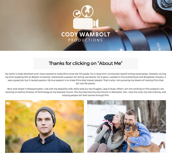 http://codywamboltproductions.com