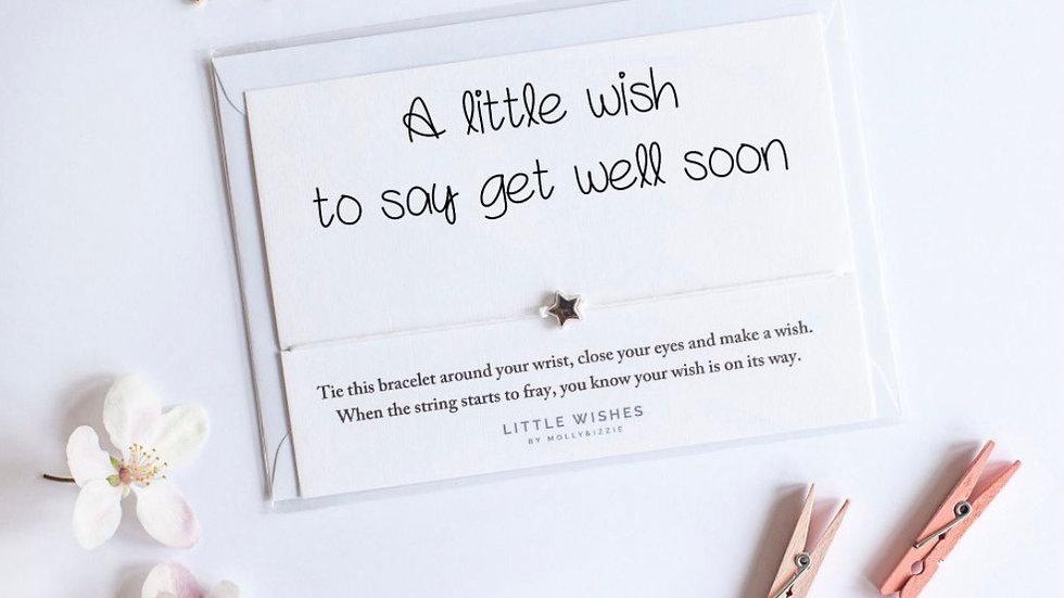 Little Wishes Bracelet - Get Well Soon