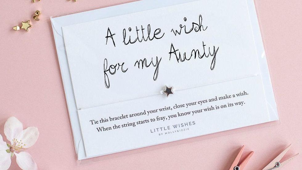 Little Wishes Bracelet -Aunty