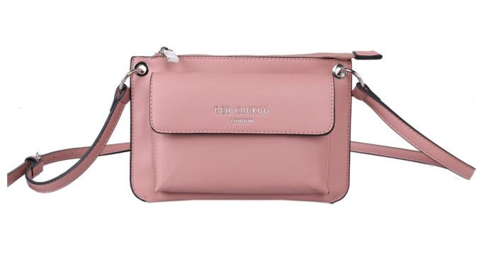 Red Cuckoo Pink Cross Body Bag