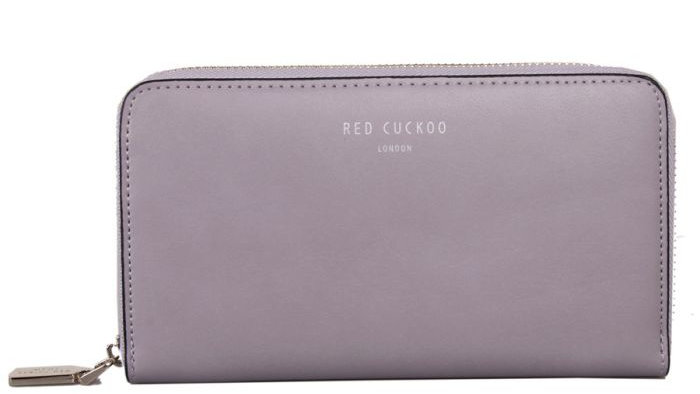 Red Cuckoo Lilac Pastel Purse