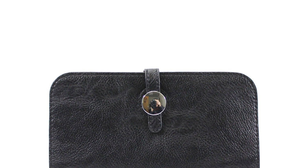 Inspired Black Purse With Card Holder