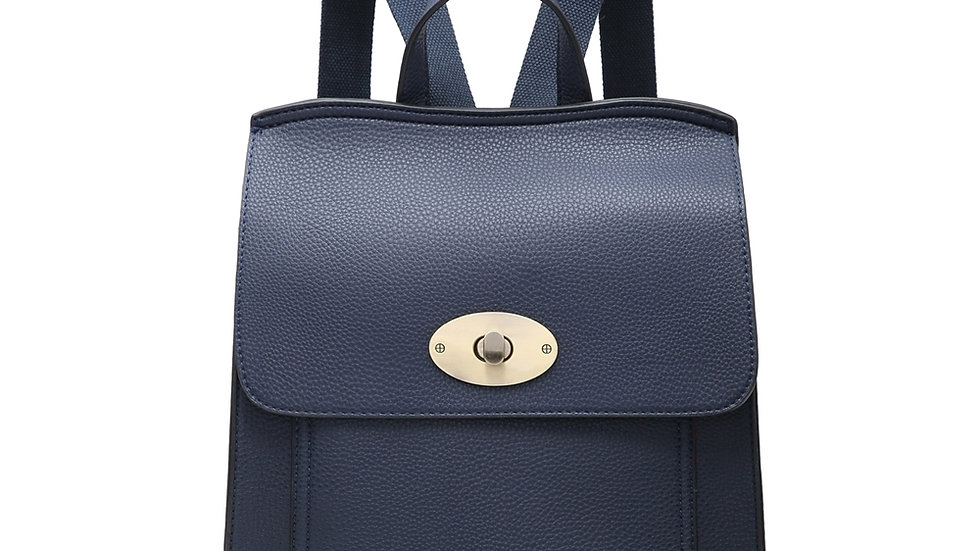 Navy Classic Backpack