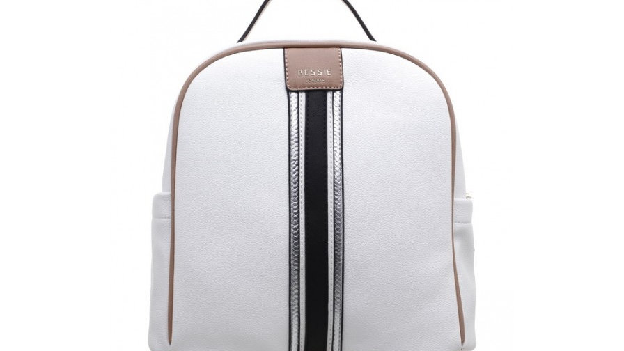 Bessie London Multi Colour Top Handle Backpack