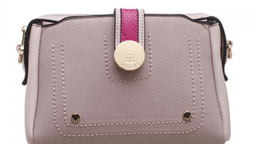 Bessie London Triple Colour Shoulder Bag