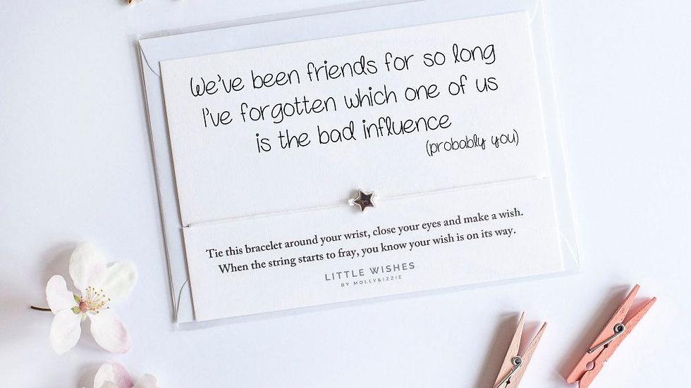 Little Wishes Bracelet - Bad Influence