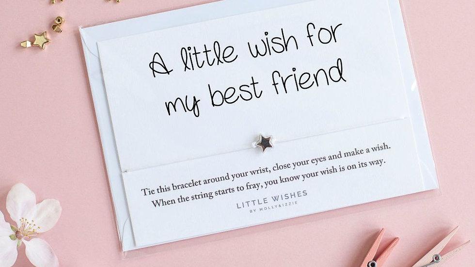 Little Wishes Bracelet - Best friend
