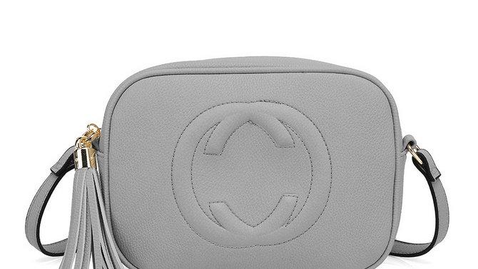 Grey Inspired Camera Style Crossbody
