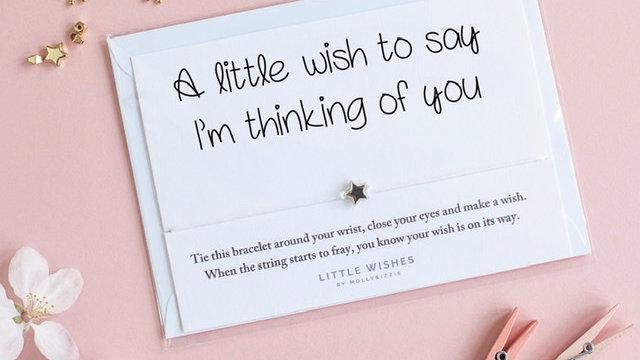Little Wishes Bracelet -Thinking Of You