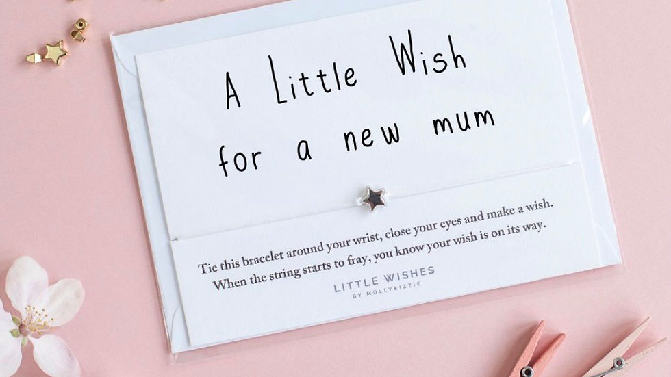 Little Wishes Bracelet - A New Mum